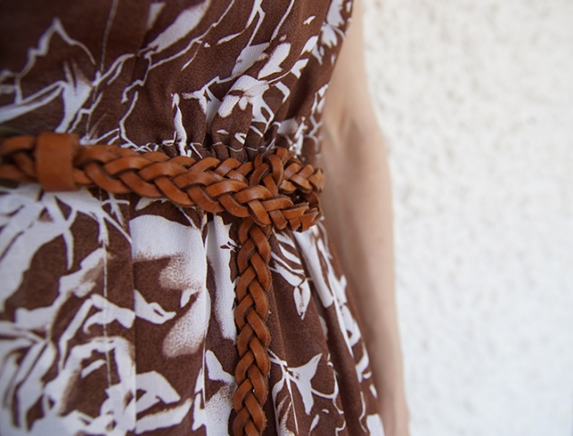 flowered-brown-dress-guillerminaferrerdesign